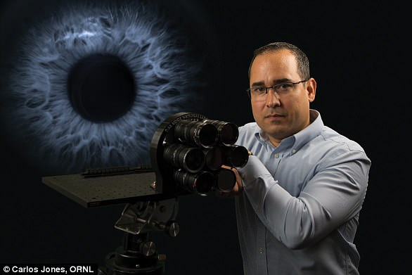 Hector Santos-Villalobos, a scientist who leads the work in ORNL's Electrical and Electronics Systems Research division, helped develop the plenoptic camera